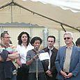 Inauguration de Clichy-Plage 2008