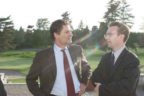 Avec Patrick Devedjian