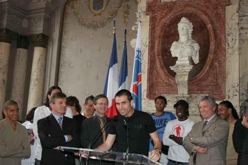 LA COUPE EST A NOUS : PSG VAINQUEUR DE LA COUPE DE FRANCE 2006 - 6