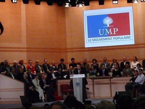 Conseil national de l'UMP - 24 janvier 2009