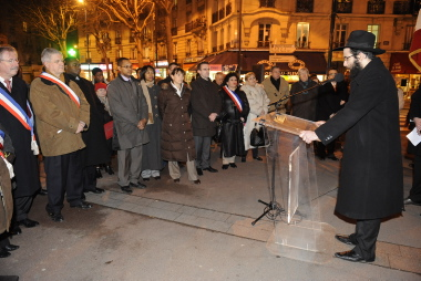 Journée de mémoire de l'Holocauste - 27 janvier 2009
