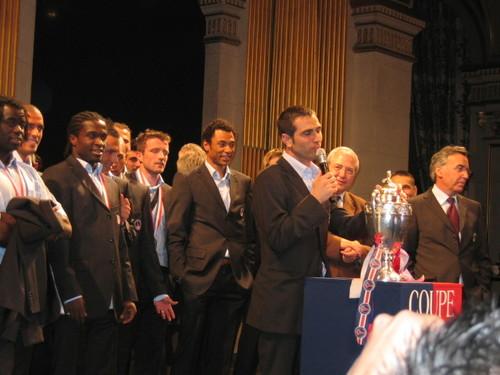 29/30 avril 2006 : Le capitaine Pedro Miguel Pauleta !