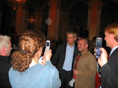 29/30 avril 2006 : Jérôme Rothen, très photographié