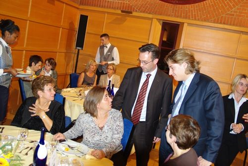 Dîner-débat UMP Clichy - 21 octobre 2008