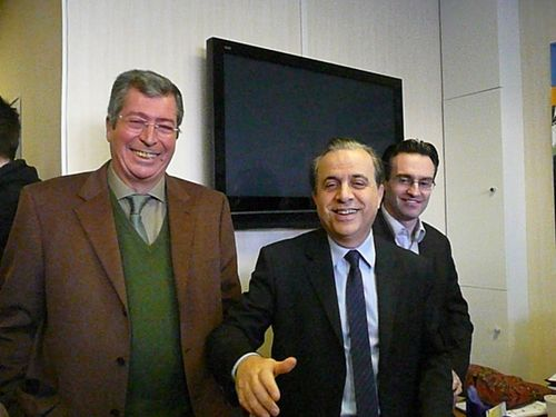Roger Karoutchi à la permanence - 1er octobre 2009