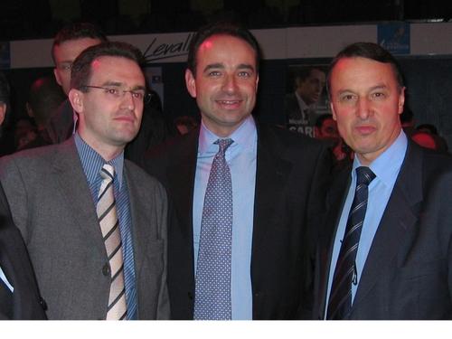 Avec Jean-François Copé et Rémi Muzeau