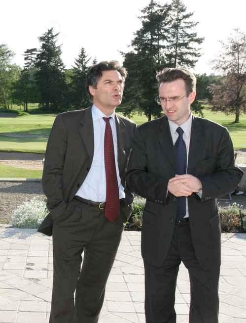 Avec Patrick Devdejian - 2