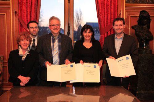 Signature du Protocole d'accord Paris-Clichy