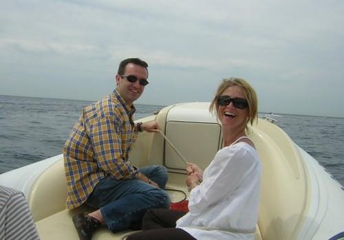 La Cote d'Azur accueillant mon épouse et moi-même en juillet 2008